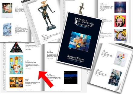 Catálogo de la subasta en la Salle VV DROUOT LIVE. 3, rue Rossini, Quartier Drouot 75009 Paris.