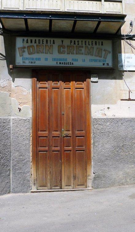 """¨Puertas cerradas. Palma 2013"""". Foto de Fernando Megías."""
